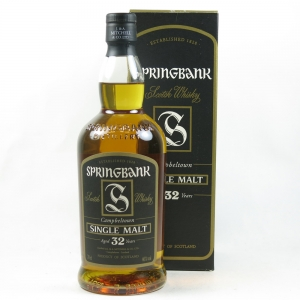 Springbank 32 Year Old front
